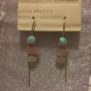Anthropologie Opal Earrings